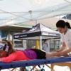 """Galleria Prima edizione della """"Mezza Sotto le Orobie"""": Centro Studi Synapsy presente con un'area massaggi dedicata"""