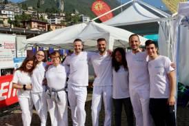 """Galleria I massaggiatori Synapsy alla """"Sarnico-Lovere Run"""" e alla """"Gran Fondo MTB"""" di Brescia"""