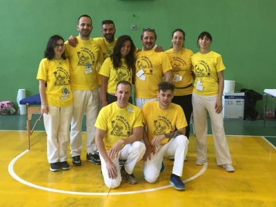 """Il team di massaggiatori sportivi Synapsy alla """"10 ore di sport e solidarietà"""" di S. Pellegrino Terme"""