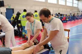 Galleria Maratonina di Treviglio 2018: servizio massaggi curato da Centro Studi Synapsy