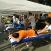 Galleria Stra Bergamo 2018: i massaggiatori Synapsy sempre presenti