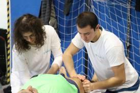 Galleria Servizio massaggi alla Mezza Maratona sul Brembo