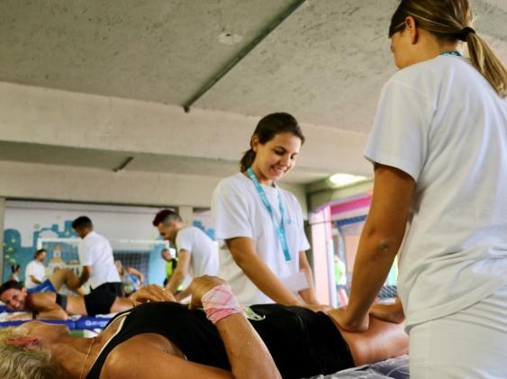 Manifestazioni sportive: anche quest'anno portiamo avanti il nostro impegno come servizio massaggi