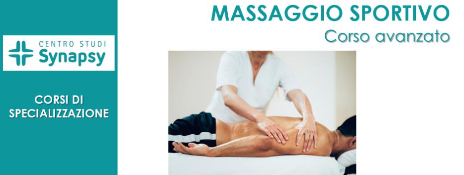 Massaggio Sportivo (Corso avanzato)