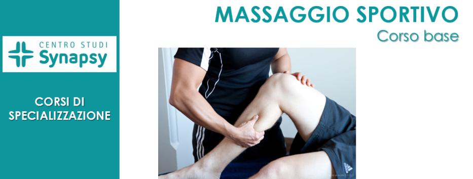 Massaggio Sportivo (Corso Base)