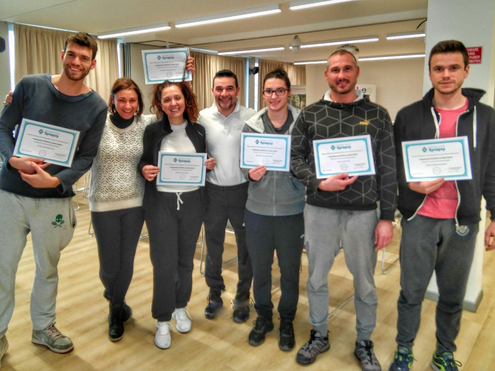 Massaggio Sportivo (Corso Base) – Questionari di valutazione